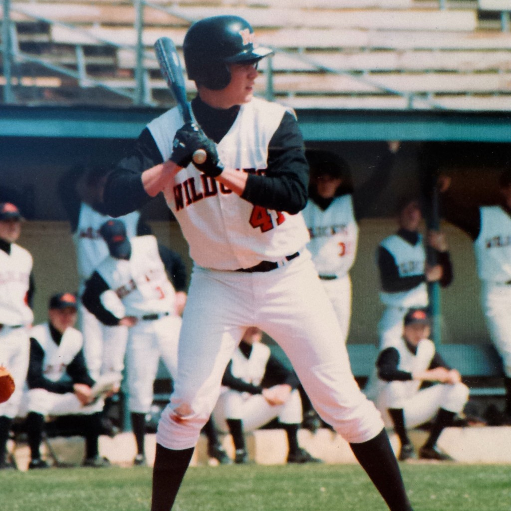 Playing for the New Hanover High School Wildcats