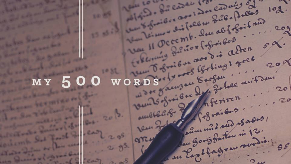 My 500 Words via Jeff Goins