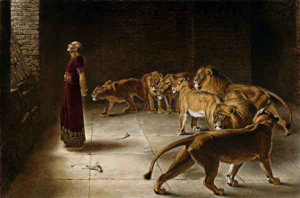 Daniel's Answer to the King by Briton Riviere 1890