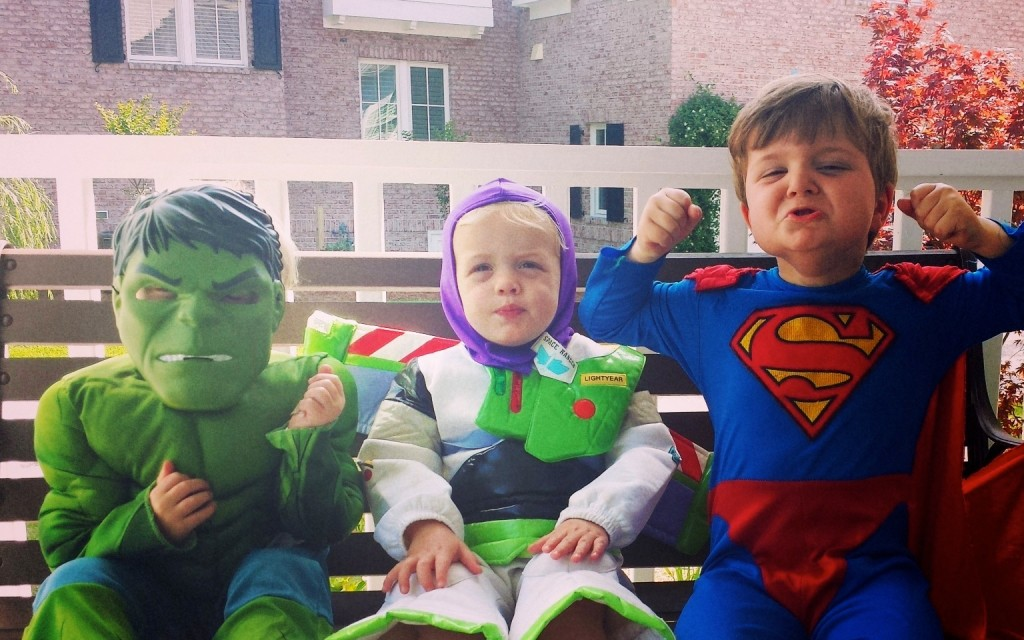 My superheros