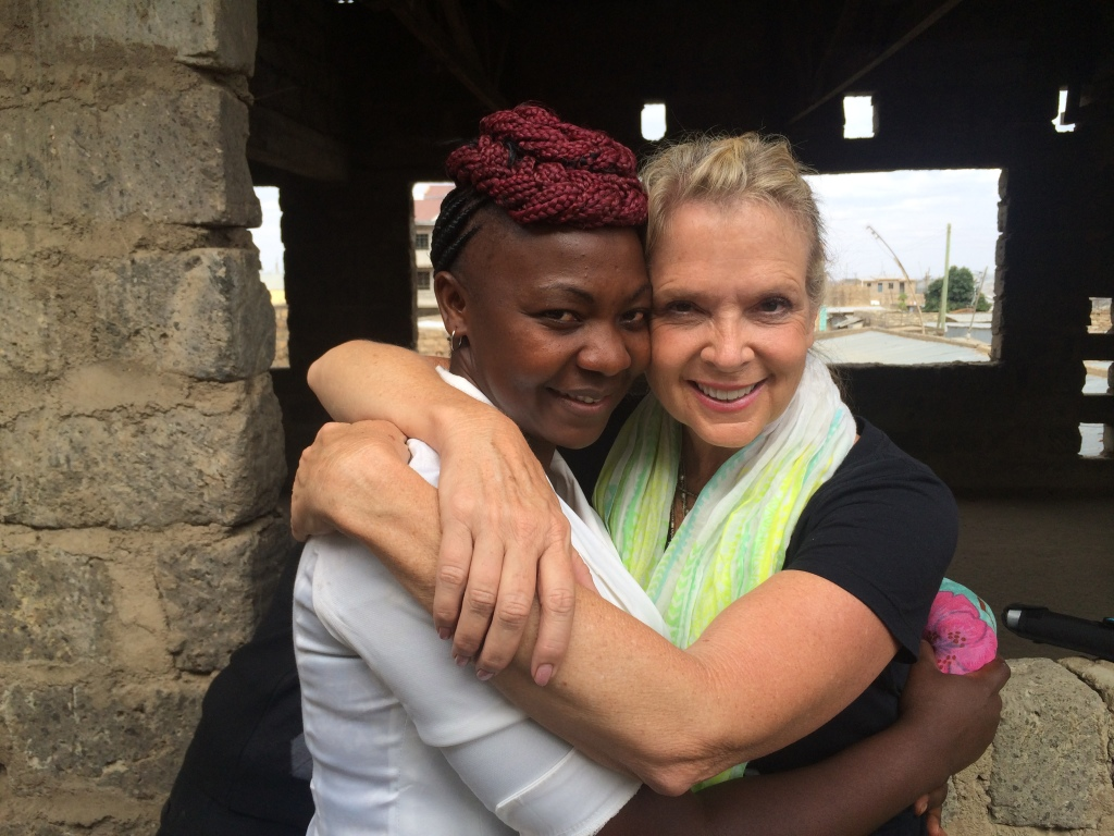 Ronne with Alice in Nairobi