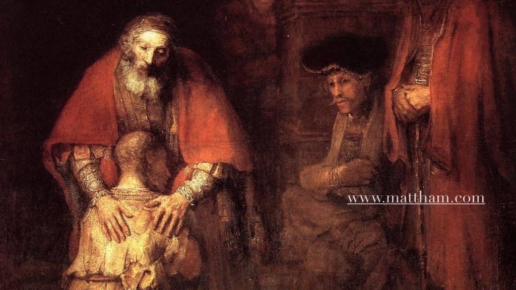 """Return of the Prodigal Son"" by Rembrandt"
